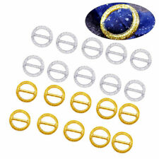20pcs Party Tee Shirt Clips Simple Elegant Round Scarf T Shirt Ring Wrap Holder