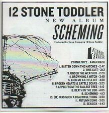(171C) 12 Stone Toddler, Scheming - DJ CD