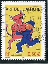 TIMBRE FRANCE OBLITERE N° 3556 ART DE L'AFFICHE / Photo non contractuelle