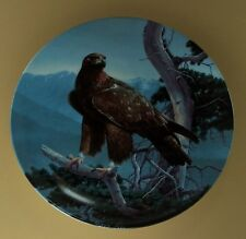 The Majestic Birds Plate Golden Eagle #8 Eighth & Final Issue Birds of Prey