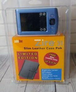 PalmOne Zire 31 Handheld PDA Organizer Brand New/Sealed Leather Case Pack