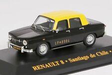Renault R8 Taxi Santiago de Chile 1965 IXO 1:43 NEU OVP CIXJ000034