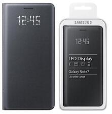 Genuine Samsung  Black LED Flip Wallet / Case - EF-NN930PB FOR Galaxy Note 7