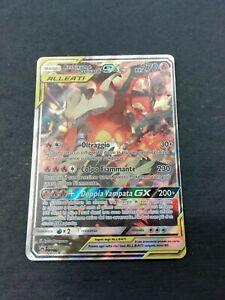 Pokémon - Reshiram e Charizard GX - SM Black Star Promo 201 - italiano
