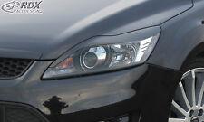 RDX Scheinwerferblenden FORD Focus 2 Facelift 2008+ Böser Blick Blenden Spoiler