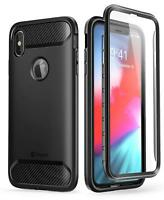 For Apple iPhone Xs Max 6.5 2018 Clayco Xenon Series Case Cover+Screen Protector