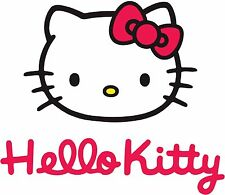 Hello Kitty  # 10 - 8 x 10 - T Shirt Iron On Transfer