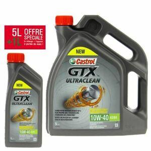 Castrol GTX Ultraclean 10W-40 A3/B4 Huile de Moteur (Pack de 5L + 1L)