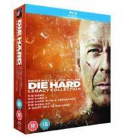 Die Hard - Legacy Collection (Films 1-5) [Blu-ray] [1988] [DVD][Region 2]
