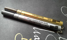 Pentel Calligraphy Paint Marker  MCP5 Silver&Gold
