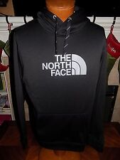 NWT The North Face Mens Surgent Half Dome Hoodie Sweatshirt BLACK/GRAY LARGE $55