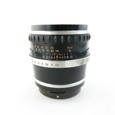 Für Pentacon Six Carl Zeiss Jena Biometar 2,8/120 Q1 Objektiv lens 8 Blades