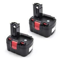 2x BATERIA 1500mAh 14.4V negro / rojo para Bosch 13614, 13614-2G, 15614