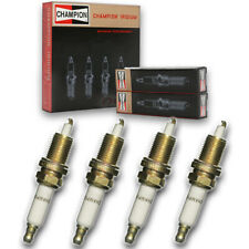 4 pc Champion 9005 Iridium Spark Plugs QC10WEP - Pre Gapped Ignition yf