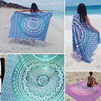 Indian Tapestry Wall Hanging Mandala Throw Hippie Bedspread Gypsy Twin Blanket .