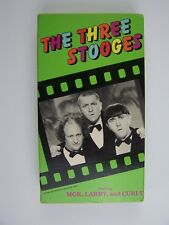 The Three Stooges VHS Cinema Greats 4 Shows