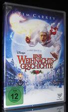 DVD EINE WEIHNACHTSGESCHICHTE - 2009- JIM CARREY + GARY OLDMAN + COLIN FIRTH NEU