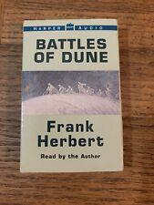 Battles Of Dune Audiobook Cassette