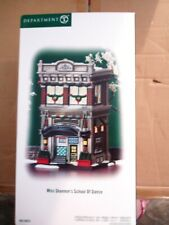 Dept 56 Christmas In The City Miss Shannon'S School Of Dance Nib