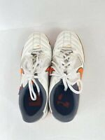NIKE 5 NIKE5 GATO Indoor Soccer Shoes Neon Orange White Gray  Men's Size 8