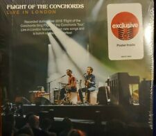 Flight of the Conchords - Live in London CD Target Exclusive Bonus Poster New
