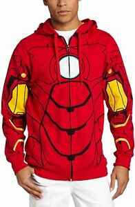 Marvel Iron Man Costume Hoodie New with Tags Officially Licensed