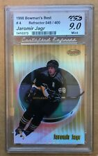1998 Bowmans Best Jaromir Jagr #4 REFRACTOR 45/400 NM/M Hockey Card Penguins