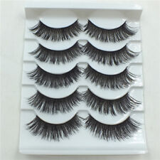 10 pairs Natural Black thick high quality Extension Handmade Eye Lashes