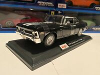New 1970 Chevrolet Nova SS 396 Coupe Die Cast Maisto Special Edition 1:18 scale