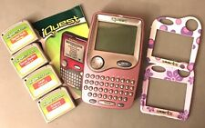 Pink iQuest Game 4 Cartridges & 3 Face Plates *2 TRAIN AUTISM SERVICE DOG 4 SON*