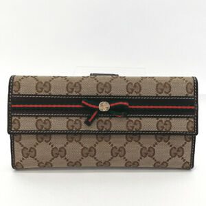 GUCCI purse 256933 Sherry line GG canvas/leather Women