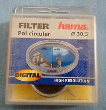 HAMA Filtre Photo vidéo Circular Polarizer Polarisant Circulaire  30,5 mm
