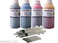 4x250ml Refill ink for Epson T774 T664 WorkForce EcoTank ET 4500 ET 4550