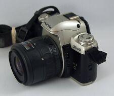 Pentax Zx-50 Qd 35mm Slr Film Camera with Pentax-F 35-80mm F4-5.6 Lens