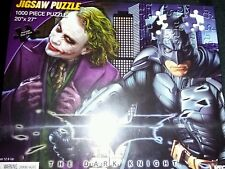 RARE ITEM ... Neca The Dark Knight 1000 pc puzzle  MINT CONDITION