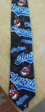 American Made Cleveland Indians 10% Silk Tie - 1993 - Excellent - Free U.S. Ship