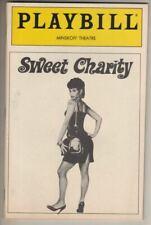 "Debbi Allen & Bebe Neuwirth   Playbill   ""Sweet Charity""  1986   REVIVAL"