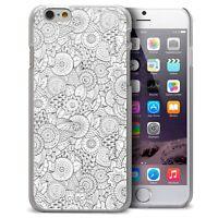Coque Housse Etui Pour iPhone 6/6S 4.7 Texture Dentelle Rigide Ultra Fin  Floral