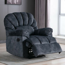 RECLINER CHAIR SOFA SEAT CHAISE LIVING ROOM RECLINING PADDED FABRIC FURNITURE US