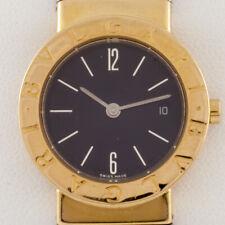 Bulgari Bvlgari Women's Diagono Tubogas 18k/SS Quartz Watch w/ Date BB 26 GSCD