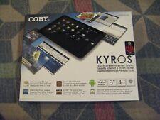 Coby Kyros MID8120 4GB, Wi-Fi, 8in - Black