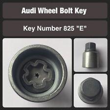 original Audi Tornillo de fijación la rueda / Llave para Tuerca 825. estampado E