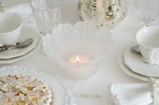 Windlicht Glaswindlicht Schale Glasschale Shabby Chic Vintage Landhaus