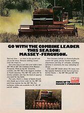 Original 1978 Massey Ferguson Combine Magazine Ad