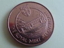 La monnaie royale Llantrisant young collectors club jeton/médaille (myrefn 27H)