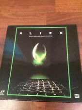 ALIEN Laserdisc 3-Disc Box Set CAV Ridley Scott H.R. Giger Tom Skerritt