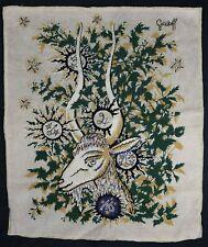 Elie GREKOFF (1914-1985) Capricorne spadem mode déposé Russe zodiaque astrologie