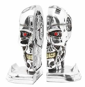 Officially licensed Terminator 2 Bookends - Stunning Robotic Head