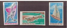 Mali MNH 1971 World Sporting Events  imperf. set mint stamps