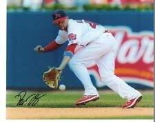PETE  KOZMA   ST. LOUIS  CARDINALS     SIGNED AUTOGRAPHED 8X10  PHOTO ACTION
